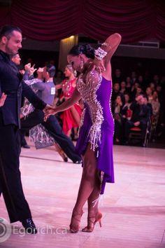 Blackpoolでの写真 - Dress for sale Latin Ballroom Dresses, Latin Dresses, Ballroom Dancing, Baile Latino, Glamour, Dance Outfits, Purple Dress, Dance Costumes, Dance Wear