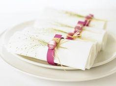 Como fazer seus próprios anéis de guardanapo para combinar com sua decoração | #festa #jantar #casamento #estilo #criatividade