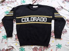 University Of Colorado Cliff Engle sweater