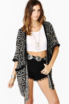 Desert Wanderer Cardi at Nasty Gal - Comfy, Cozy, Cute