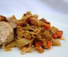 Asopaipas. Recetas de Cocina Casera .: Repollo Rehogado con Verduras y Chorizo