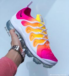 """EMAIL TO ENQUIRE about 1 of 1 designs.""""INSTAGRAM"""" vapormax plus customs. Please allow up to 2 weeks to receive your order. However, it is likely your order will be shipped sooner than this...."""