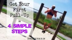 """Step One: Establish a strong, isometric (static/flexed) position at the top, middle, and bottom (an active bottom that is, with shoulders """"sucked down"""") position of the pull up for at least five seconds."""