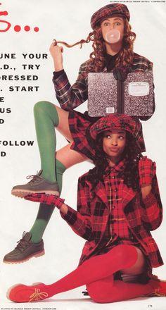 90s fashion- I had that hat lol