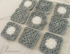 (Crochet * Special guest: Beatriz) It is time to show you a new blanket, and this one is very special: I t is a Polka-Dot Blanket … ...