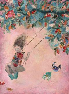 Art and illustration Art And Illustration, Illustrations Posters, Art Amour, Art Fantaisiste, Inspiration Artistique, Robert Louis Stevenson, Whimsical Art, Oeuvre D'art, Love Art