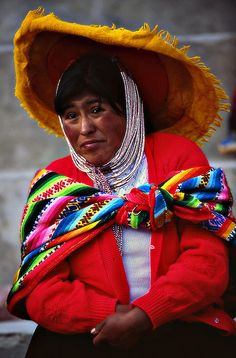 The people of Peru intrigue me.