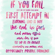 #PositiveThinking!
