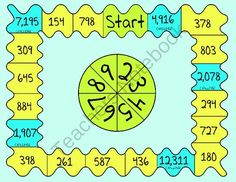 Long Division Game from Having Fun and Loving Teaching on TeachersNotebook.com -  (6 pages) Fun Math, Math Activities, Maths, Division Games, Long Division Activities, Math Genius, Math Coach, Fourth Grade Math, Math Classroom