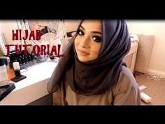 Hijab Tutorial Pasmina Simple For Everyday - YouTube