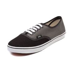 shop for vans authentic lo pro dots skate shoe in gray dots at shi