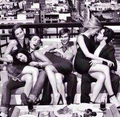 Blair, Vanessa, Chuck, Nate, Serena and Dan