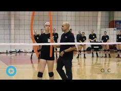 Clinician: Paco Labrador, head women's volleyball coach at Wittenberg University Purpose: To hone hitter vision using homemade equipment How it works: This d. Basketball Training Equipment, Volleyball Training, Volleyball Drills, Coaching Volleyball, Women Volleyball, Ucla Basketball, Basketball Video Games, Basketball Tricks, Basketball Workouts