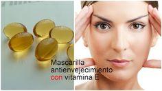Mascarilla antienvejecimiento para la piel con vitamina E ~ Belleza y Peinados