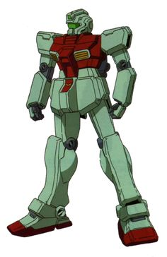 The RGM-79[E] GM Early Type is an early version of the RGM-79C GM Type C. It first appeared in the Mobile Suit Gundam: The 08th MS Team series.