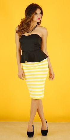 Lovin Peplum Outfit - More Details → http://fashiononlinepictures.blogspot.com/2013/10/lovin-peplum-outfit.html.