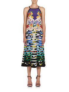 Mary Katrantzou - Rebel Printed Midi Dress