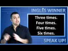 Nesta video aula do curso de inglês do canal ESLWINNER você vai aprender algumas expressões sobre com que frequência fazemos as coisas. ..