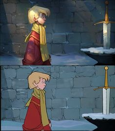 O_o gawl. The Sword in the Stone Tyson Murphy, a character artist at Blizzard Entertainment, has recreated stills from two classic Disney movies (The Sword in the Stone and 101 Dalmatians) by digitally paint...