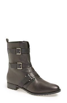Nice buckle detail on these Rebecca Minkoff boots.