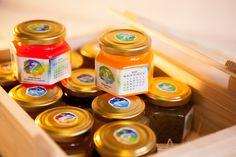 jam, calendar, jar, confectionary, gift, new year gift, new year idea, confiture, marmelade, honey, design