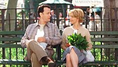 You've Got Mail. - so cute, Meg Ryan is wonderful - love her little bookshop!