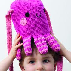 "Octopus Bag - Pattern in ""Amigurumi on the Go"" by Ana Paula Rimoli :)"