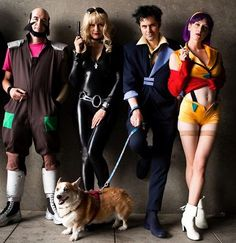 this is a freaking awesome Cowboy BeBop crew