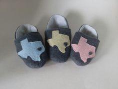 Heart of Texas Baby Booties