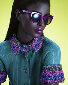 from obscure to demure — Senait Gidey by Sebastian Mader for Glamour US...