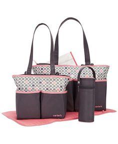 06a288218a35ec Carter's Baby 5-in-1 Diaper Bag Set & Reviews - All Baby Gear - Kids -  Macy's