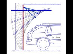 Подъемно-поворотные гаражные ворота - YouTube