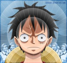 One Piece - The power to conquer all by SergiART on deviantART