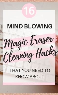 These genius magic eraser hacks will make cleaning so much easier! Find out which awesome magic eraser uses you have been missing out on now! Clean Dry Erase Board, Magic Eraser Uses, I Heart Organizing, Clean Your Car, Clean Freak, Drawing For Kids, Spring Cleaning, Mind Blown, Cleaning Hacks