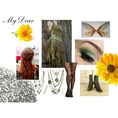 the selection inspired by ktekrause on Polyvore featuring Flower Idea