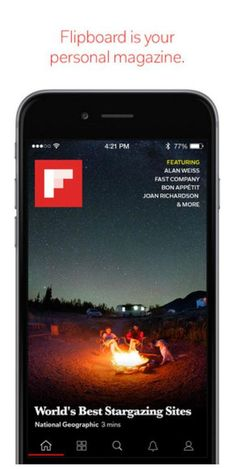 """The Flipboard app update now lets you fine tune the articles that appear in your home feed while reading any story in the app by choosing """"more like this,"""" """"less like this,"""" or mute a source entirely"""