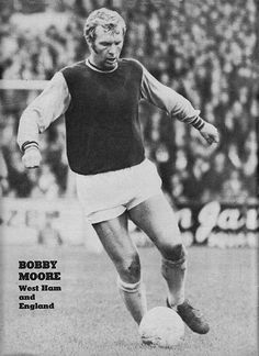 Circa West Ham United and England defender and captain Bobby Moore. West Ham United Fc, Bobby Moore, 1966 World Cup, Fa Cup Final, White Horses, Premier League, Football, Running, Sports