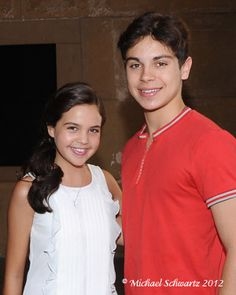 Bailee Madison and Jake T. Austin (Wizards of Waverly Place) at the 25 Hill Hollywood Premiere.