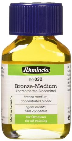 Schmincke Bronze Medium - Famous Last Words Famous Last Words, Bronzer, Medium, Painting, Painting Art, Paintings, Medium-length Hairstyle