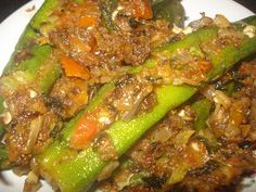 Jay's Veg Kitchen: LADY'S FINGER FRY /BHINDI FRY