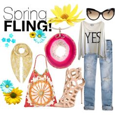"""""""Spring Fling!"""" by mymagnifico.com on Polyvore"""