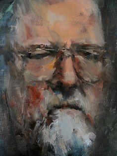 Portrait study by Julie Hopkins