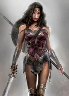 Dawn of Justice Wonder Woman Concept Art