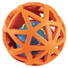 Gor Pets Rubber Extreme Giggler 16cm, Orange