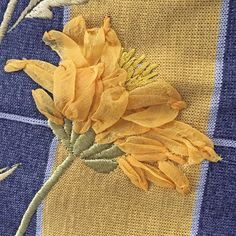 Karen Nicol's Exquisite Flower: Visible mending on a wool shift dress – gauze flowers and machine embroidery Couture Embroidery, Machine Embroidery Applique, Embroidery Fashion, Embroidery Stitches, Ribbon Embroidery Tutorial, Silk Ribbon Embroidery, Hand Embroidery Designs, Visible Mending, Diy Wedding Flowers