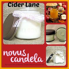 Bring the scent of a welcoming aroma of hot cider spiced with cinnamon cloves and nutmeg to any room with our made to order Cider Lane Soy Scented Candle.  As a purist every candle I make is scented with fragrance or pure essential oil and are 100% dye free giving my candle an ivory color. Made in small batches each candle has a cotton wick and is hand pour into rustic  4 or 8 ounce mason jars with a rustic lid. Perfect for the any room. >> http://ift.tt/2fIozmT  #etsian #etsysale #smallbiz…