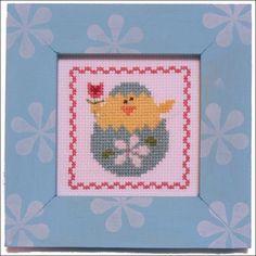 Pine Mountain Designs Spring Chick Frame Up Cross Stitch Kit