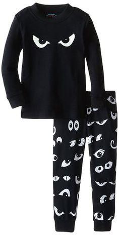 Boy's Glow in the Dark Eyes Pajama set by Sara's Print