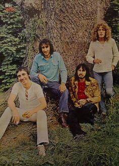 The Who - Pete Townshend, Keith Moon, Roger Daltrey, John Entwistle--back in the day