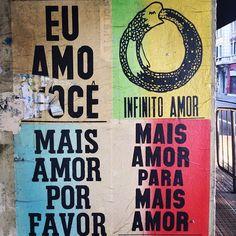 Lambe-lambe São Paulo's Streets via Punk Poster, Write It Down, Arte Popular, Design Museum, Poster Wall, Word Art, Letterpress, Hand Lettering, Street Art